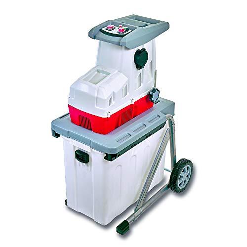 IKRA 81002870 Elektro Gartenhäcksler Walzenhäcksler ILH2800, leise robust wartungsarm, Aststärke bis 44mm,...