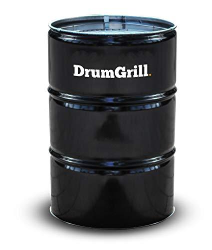 DrumGrill Big Mutlifunktional Stahl Öl Fass BBQ Holzkohle Grill, Feuerstelle, Gartenmöbel. Leichter Barbecue...