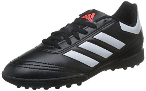 adidas Jungen Goletto VI TF J Fußballschuhe, Schwarz(Cblack/Ftwwht/Solred), 29 EU