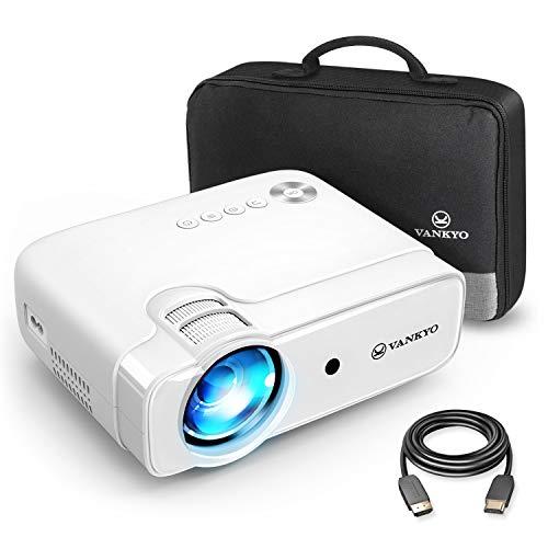 VANKYO Leisure 430 Mini Beamer, 5000 Lumen Heimkino Beamer, Support 1080P Full HD mit 60000 Stunden LED,...