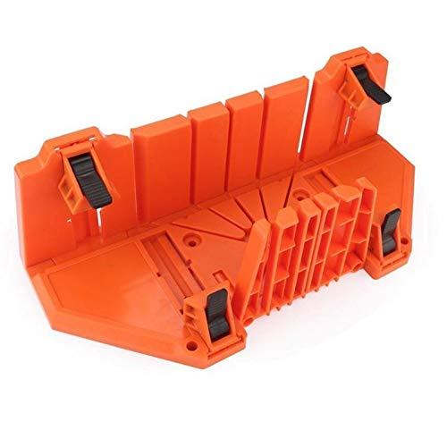 JCMY DIY-Werkzeuge Kunststoff 14 Zoll Gehäuse zur Holzspann Gehrungssäge Box Cutting Tools 0/22,5/45/90 Grad...