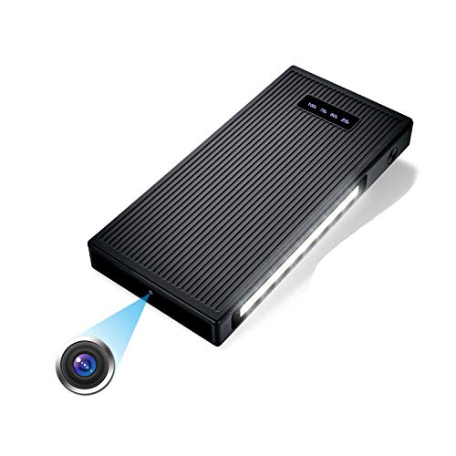 10000mAh Tragbare Kleine Überwachungskameras 1080P Kamera mit Nachtsicht Bewegungserkennung Nanny-Videokamera...