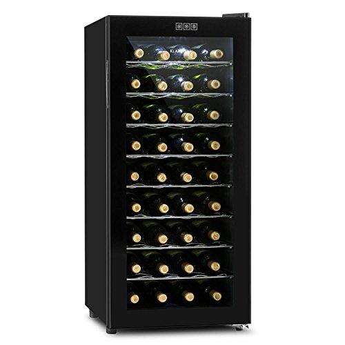 Klarstein Vivo Vino - Weinkhlschrank, Getrnkekhlschrank, Gastrokhlschrank, 118 Liter, 36 Flaschen, 120W,...