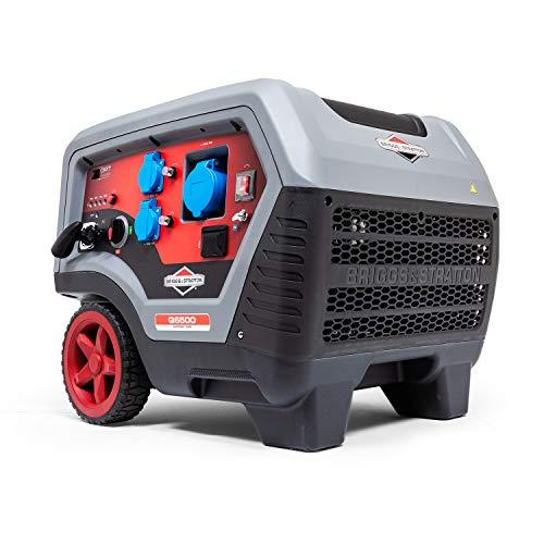 Briggs & Stratton Tragbarer Benzin-Inverter-Generator der Quiet Power Technology Serie Q6500 mit 6500...