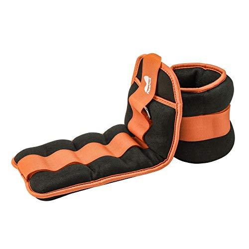 REEHUT Gewichtsmanschetten Fuß, Armgewichte Handgelenkgewichte Verstellbar Laufgewichte Set (1 Paar) 1LB bis...