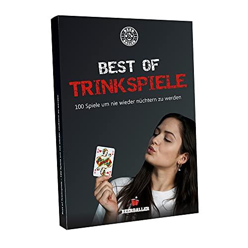 BeerBaller® Trinkspiel Buch - Best of TRINKSPIELE - 100 Spiele, um nie Wieder nüchtern zu Werden! | Die...