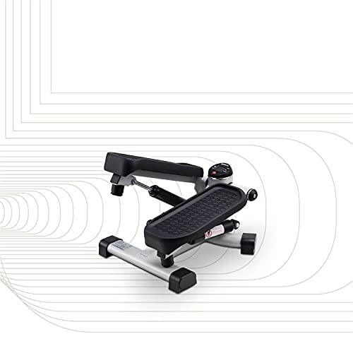 SportPlus 2in1 Mini-Stepper mit patentierter Umschalttechnik, Side-Stepper und Auf-und-Ab-Stepper in einem...