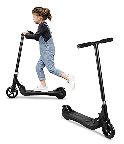 Riding' times Elektroroller für Kinder, Klappbarer Roller Kickscooter Elektro, 120W Motor, 5 km Langstrecke,...