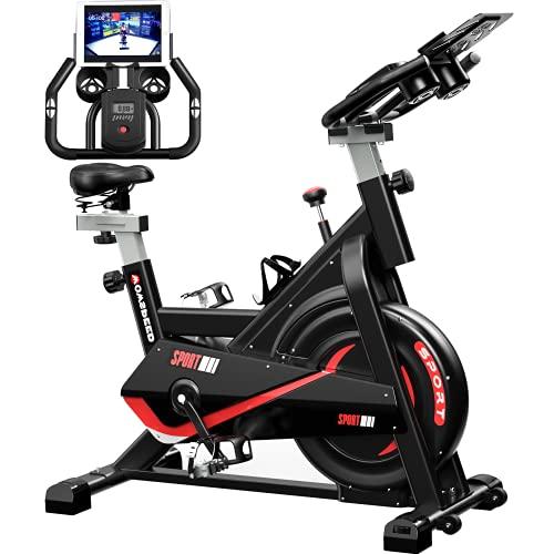 Heimtrainer Fahrrad, Hometrainer Fahrrad, Fitnessbikes,Ergometer Fahrrad,Fitness Geraete Stepper für zuhause...