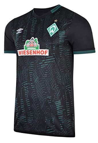 UMBRO SV Werder Bremen Trikot 3rd 2019/2020 Herren schwarz/grün, 3XL