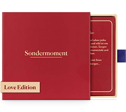 Sondermoment Love Edition - Das Fragespiel Für Paare und Verliebte | Tiefgründige Fragen und Challenges rund...