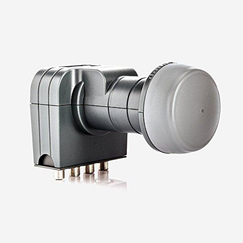 Fuba DEK 417 Quad LNB - Quad Universal LNB / Quattro-Switch LNB 4 Teilnehmer mit optimaler...