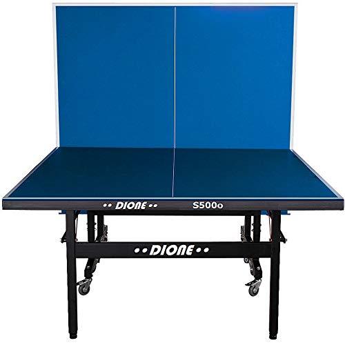 Dione Tischtennistisch S500o - 6mm top - Outdoor Klapp - Rollbar Tischtennisplatte fr drauen - Wetterfeste...