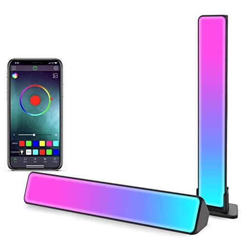 Zuukoo Smart LED Lightbar, RGB Smart LED Lampe mit Mehrere Lichteffekte, LED TV Hintergrundbeleuchtung, Gaming...