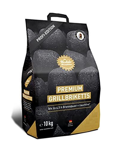 Gartenwelt Riegelsberger Kohle Manufaktur Premium Grillbriketts rauchfrei* bis zu 4,5 Std. Brenndauer Made in...