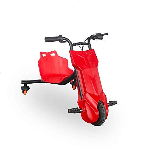 BEEPER Drift-Trike Elektro Kart Elektro Kind Rot 100W 12V 6, 5Ah RDT100-R
