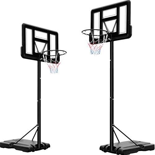 Basketballständer Unisex-Jugendliche, Basketballkorb höhenverstellbar von 230 bis 304 cm,...