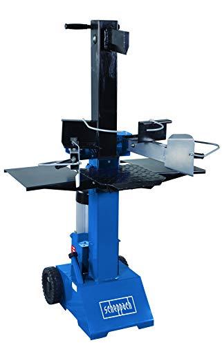 Scheppach HL810 Hydraulikspalter Holzspalter bis 550 mm | 8 Tonnen Spaltkraft 8t | Brennholzspalter 230V |...