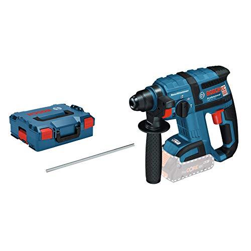 Bosch Professional 18V System Akku Bohrhammer GBH 18 V-EC (SDS Plus, Bohr-Ø max.: Beton/Stahl/Holz 18/13/20...