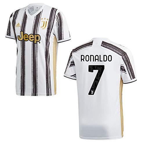 adidas Juventus Turin Trikot Home Kinder 2021 - Ronaldo 7, Größe:152
