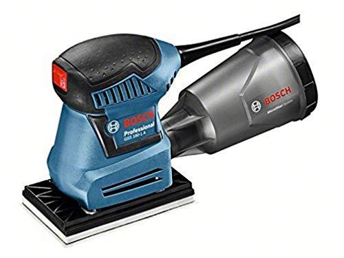Bosch Professional Schwingschleifer GSS 160-1 A (180 Watt, inkl. Staubbox inklusiv Microfilter, Schleifblatt...