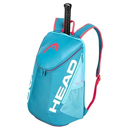 HEAD Unisex-Erwachsene Tour Team Backpack Tennistasche, blau/pink, Einheitsgröße