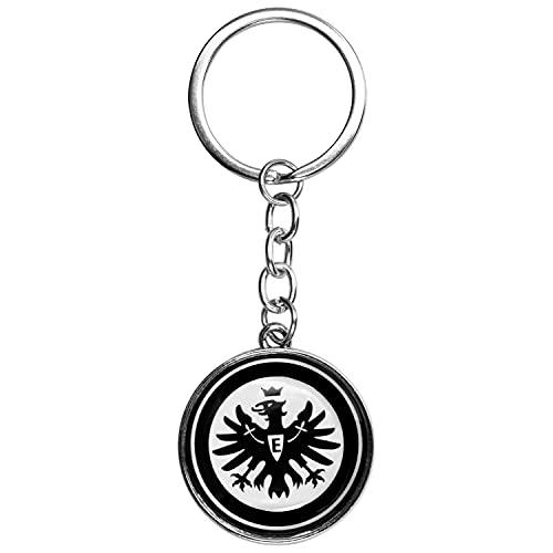 Eintracht Frankfurt Schlüsselanhänger LOGO SCHWARZ