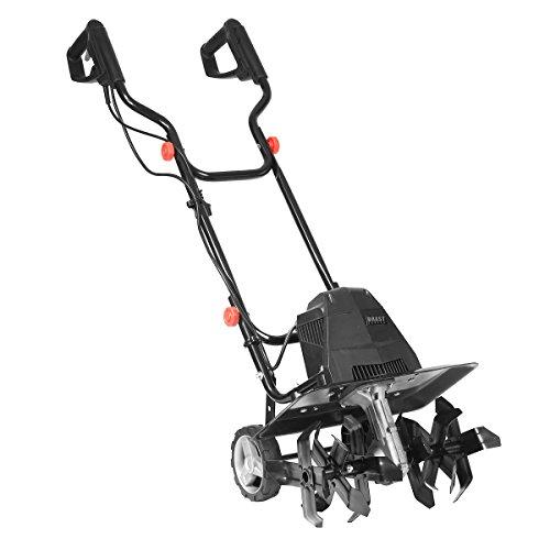 BRAST elektrische Motorhacke 1500 Watt 45cm Arbeitsbreite 22cm Arbeitstiefe 24 Hackmesser Ackerfräse...