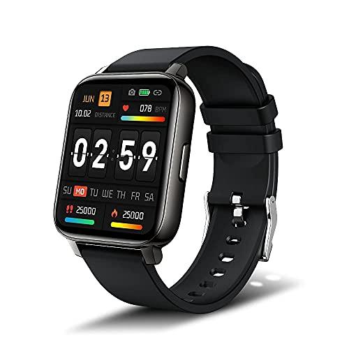iporachx Smartwatch für Damen Herren, 1.69 Zoll Fitnessuhr Armbanduhr mit Schrittzähler Pulsuhr...