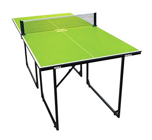 JOOLA Tischtennistisch MIDSIZE - Indoor Tischtennisplatte Freizeittisch Inklusive Tischtennisnetz-22 KG,...