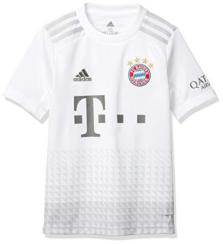 adidas Kinder T-Shirt FCB A JSY Y, Blanco, 140, DX9264