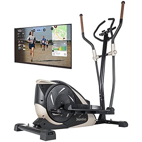 skandika Crosstrainer Eleganse/Adrett | Design Hometrainer mit Bluetooth, App-Steuerung (z.B. Kinomap),...