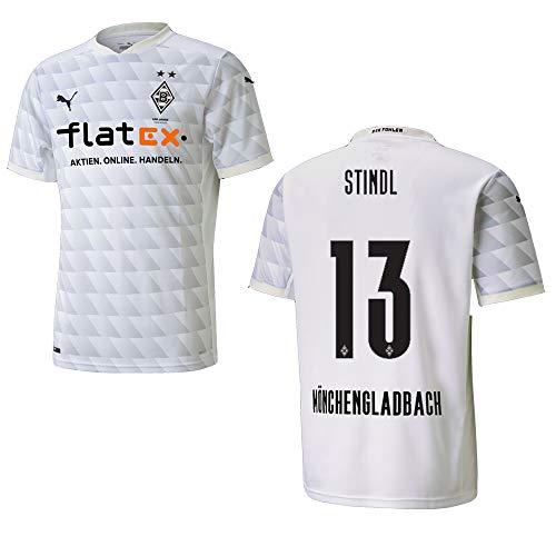 BMG Borussia MÖNCHENGLADBACH Trikot Home Kinder 2021, Größe:164, Spielerflock (zzgl. 10.00EUR):13 Stindl
