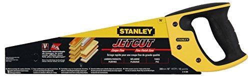 Stanley JetCut Handsge fein (380 mm Lnge, 11 Zhne/Inch, Bi-Material, Hardpoint-Verzahnung, 45/90-Anschlag)