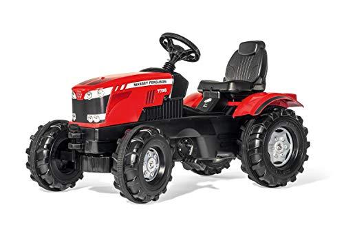 Rolly Toys Traktor / rollyFarmtrac MF 7726 Trettraktor (für Kinder im Alter von 3 – 8 Jahre, verstellbarer...