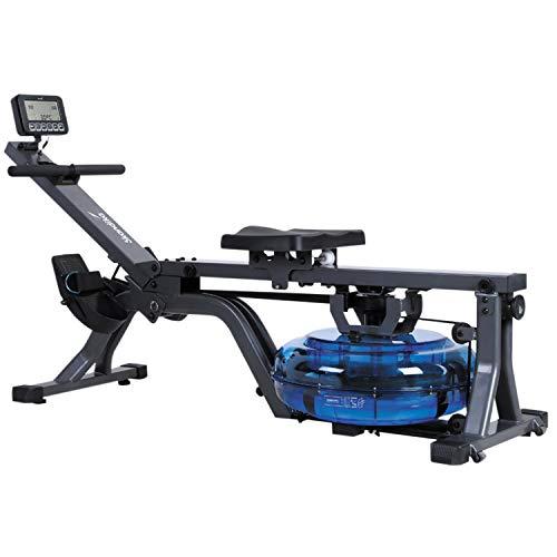 skandika Wasser-Rudergerät Nemo II/III/Compact, Water Ruderzugmaschine mit regulierbarem Wasserwiderstand,...