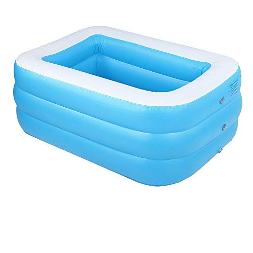 BYARSS Kinder aufblasbarer Pool Hohe qualität Kinder 's Home benutzung Paddling Pool großes quadratisch...
