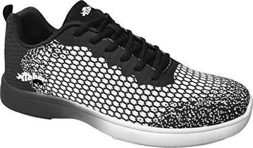 Bowling-Schuhe, Aloha HexaGo, Damen und Herren, für Rechts- und Linkshänder Schuhgröße 35-49 (43 EU,...