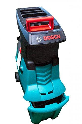 Bosch AXT 25 D Häcksler + Fangbox 53 l + Stopfer (2.500 W, max. Ø 40 mm Schneidekapazität, ca. 175 kg/h...