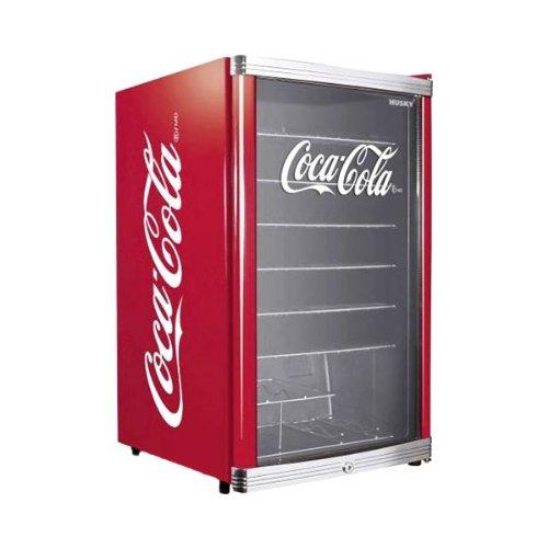 Husky HUS-HC 166 Flaschenkühlschrank Coca-Cola / A+ / 83,5 cm Höhe / 109 kWh/Jahr / 130 L Kühlteil