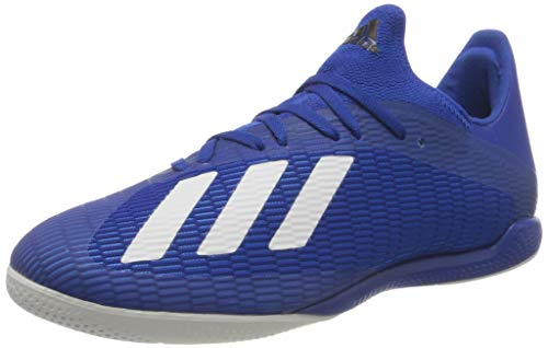adidas Herren EG7154_41 1/3 Indoor Football Trainers, Blau Team Royal Blue FTWR White Core Black, EU