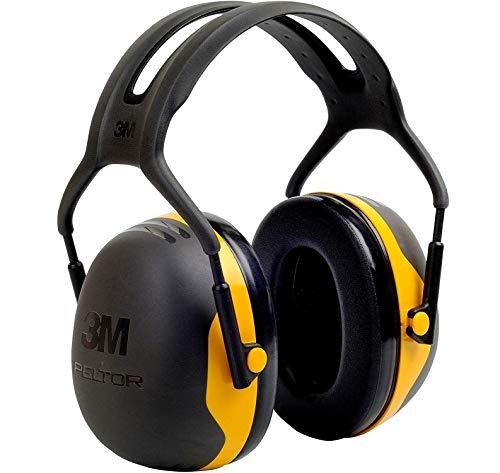 3M Peltor Kapselgehörschützer X2AC1 für Lärmpegel von 94 bis 105 dB, stufenlos verstellbare...