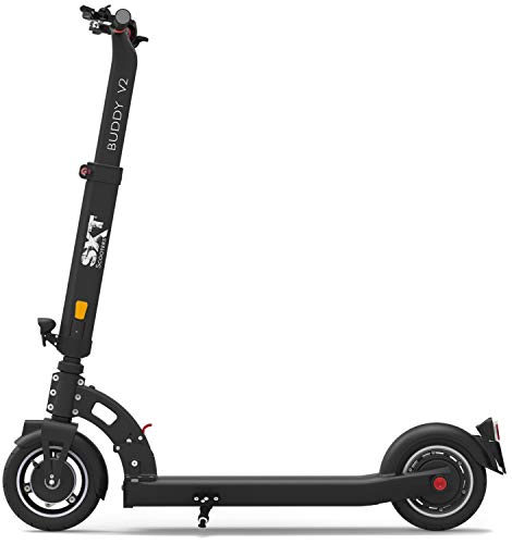 SXT Scooters BuddyV2-E E-Scooter Schwarz Lithium 36V 10.4Ah Straßenzulassung: Deutschland