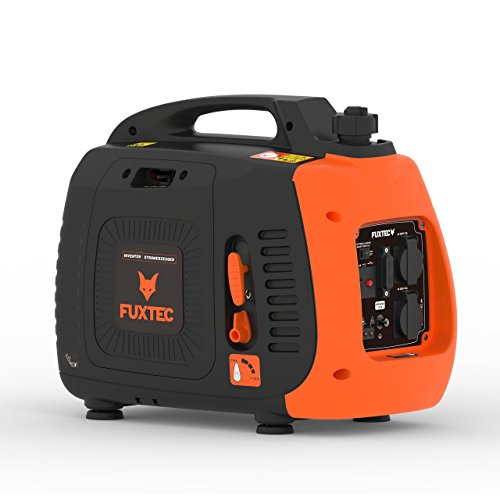 Fuxtec Inverter FX-IG12 Wechselrichter Benzin Stromerzeuger, 2,2 KW Leistung,4h Laufleistung, 3,8L...