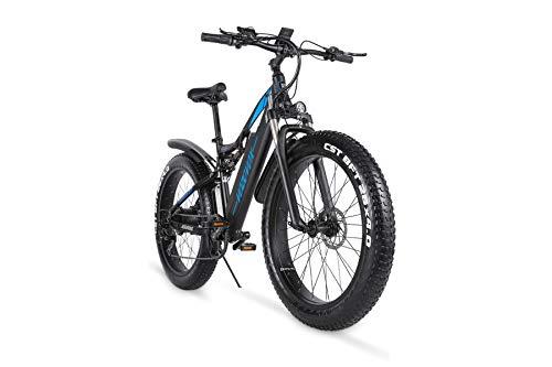 VOZCVOX Elektrofahrräder Ebike Mountainbike, 26' Elektrisches Fahrrad mit 48V-17Ah Lithium Batterie,LCD...