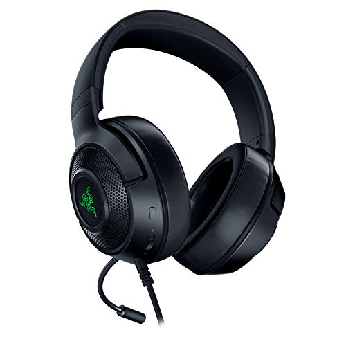 Razer Kraken X USB - Gaming Headset: Digitales Surround Sound Gaming-Headphones (7.1 Surround Sound, Flexibles...