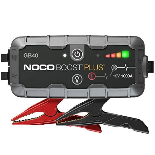 NOCO Boost Plus GB40 1000A 12V UltraSafe Starthilfe Powerbank, Tragbare Auto Batterie Booster, Starthilfekabel...