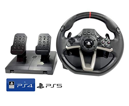 PS4 PS5 Lenkrad und Pedale Orig. Licensed Sony PS4 PS5 RWA Apex mit Multi Vibration TouchSense® (PS4/PS3/PC)