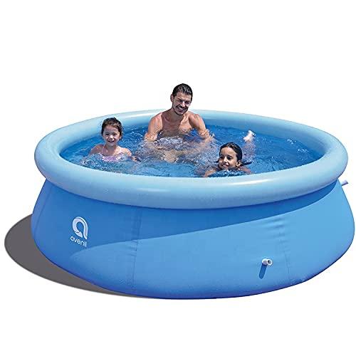 Avenli® Family Prompt Set Pool Ø240x63cm Aufstellpool ohne Pumpe, Pool-Set , Gartenpool, Schwimmbecken für...