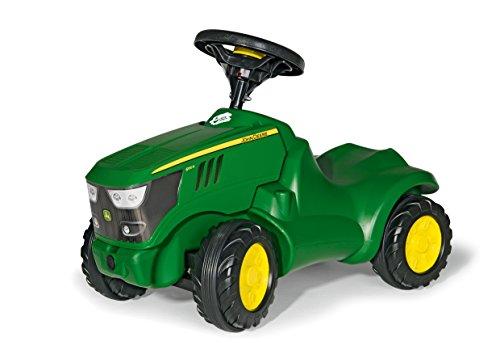 Rolly Toys 132072 Traktor Minitrac John Deere 6150R, Babyrutscher, Motorhaube öffenbar, Ablagefach unter...